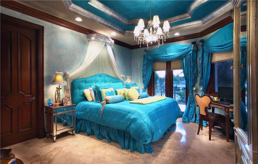 +25 Teal Bedroom Ideas (Photo Gallery) - Colors, Options ...